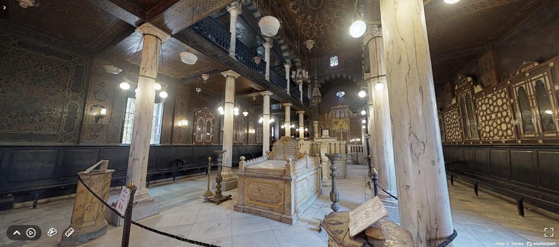 المعبد اليهودي بن عزرا بمصر القديمة مهد الأديان.. زيارته أونلاين لأول مرة
